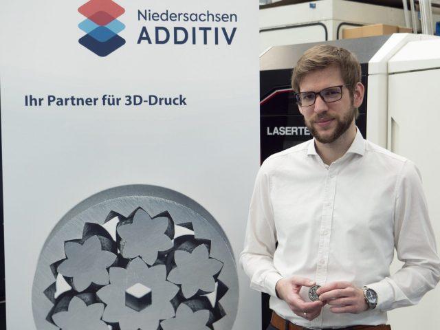Dr.-Ing. Sascha Kulas übernimmt Projektleitung von Niedersachsen ADDITIV