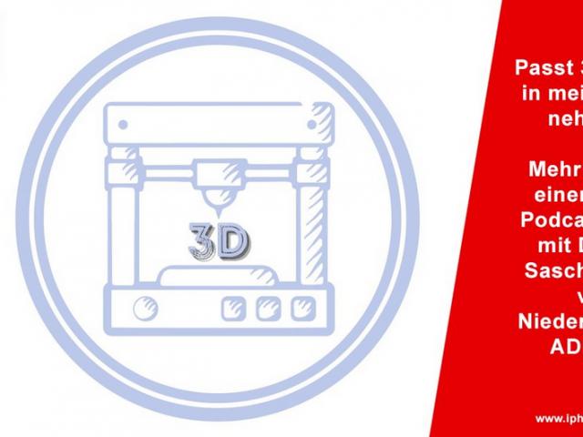 Passt 3D-Druck in mein Unternehmen? Podcast mit Dr.-Ing. Sascha Kulas