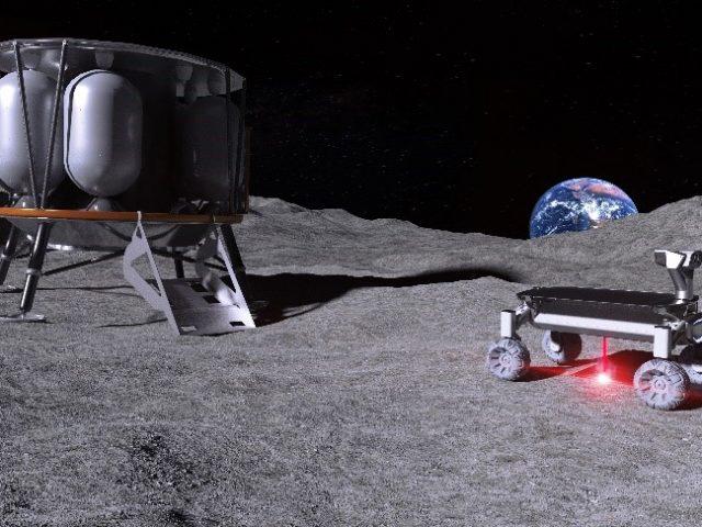 3D-Druck auf dem Mond: Gebäude, Landeplätze und Straßen aus Mondstaub